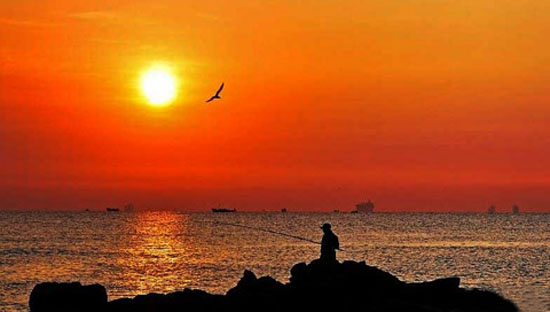 秦皇岛海滨风景 - 海岸风景 - 辽宁海景房网