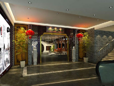 红古轩红木馆中式风格装修案例